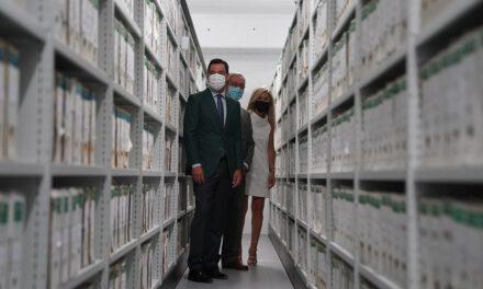 Así es la sede definitiva del Archivo General de Andalucía, que deja de ser la única región sin ubicación para sus fondos documentales