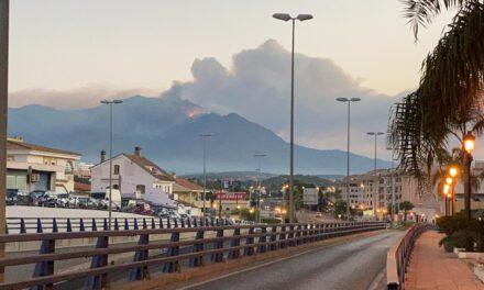 """Juan Sánchez, coordinador INFOCA: """"Estamos frente al incendio más complejo conocido por los servicios de extinción forestales en los últimos tiempos"""""""