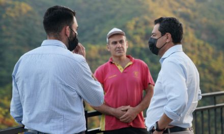 Moreno pedirá al Gobierno de España la declaración de zona catastrófica para Sierra Bermeja