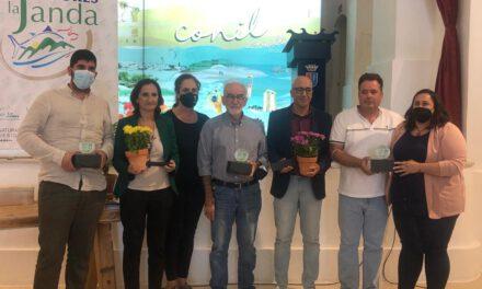 Aceite Almazara Sancha Pérez, Ginebra Romegal y Picarninas de Conservas Cantizado, premios 'Sabores de La Janda'
