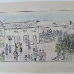 ¿Qué dibujaban los niños durante la Guerra Civil?