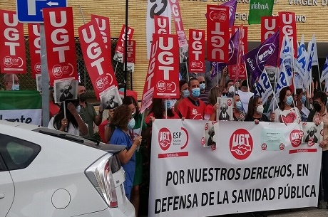 Los sanitarios salen a la calle este jueves para exigir la renovación del 100% de los contratos en la Salud de Andalucía